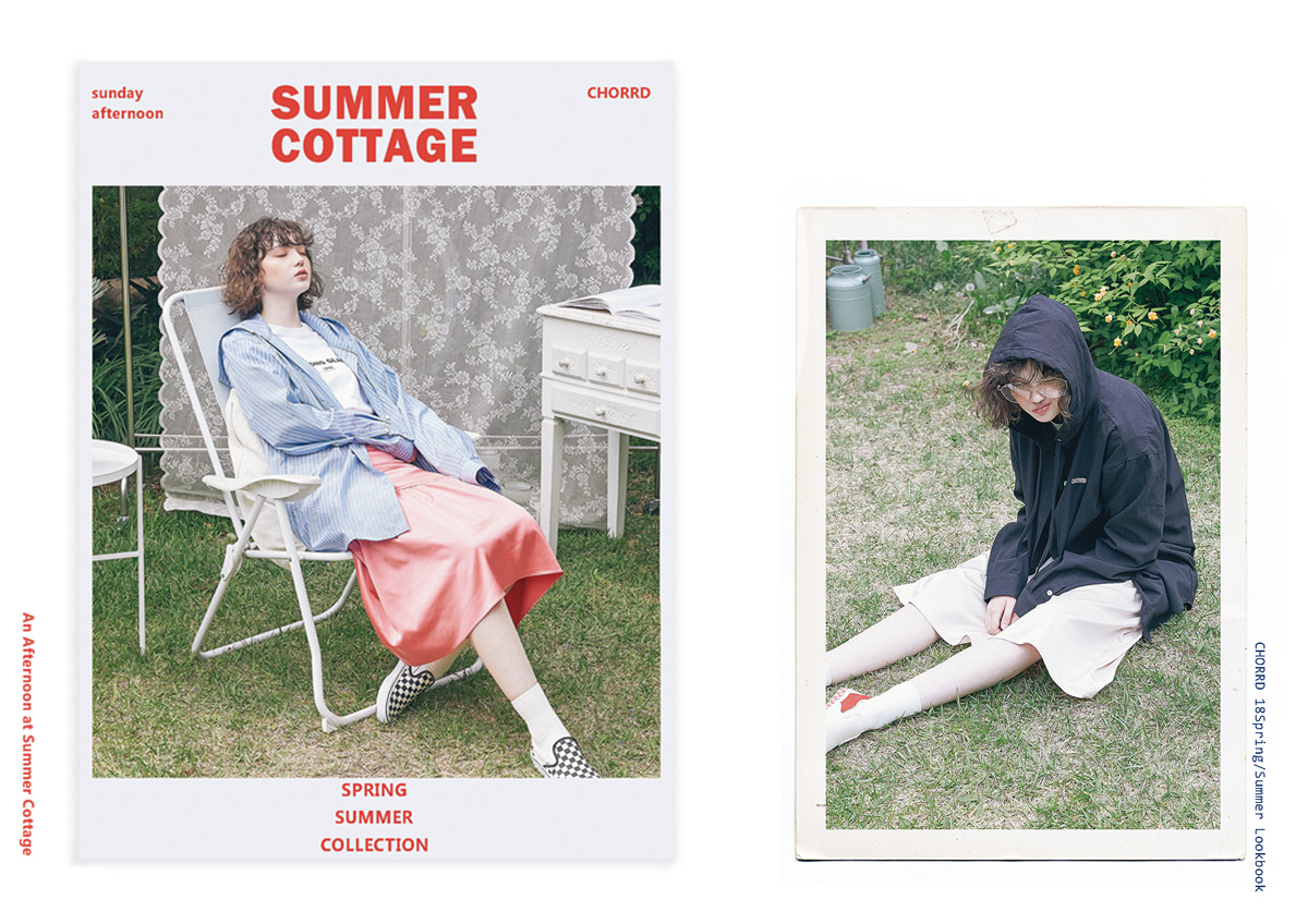 2018 S/S Season #1 -An afternoon at summer cottage.